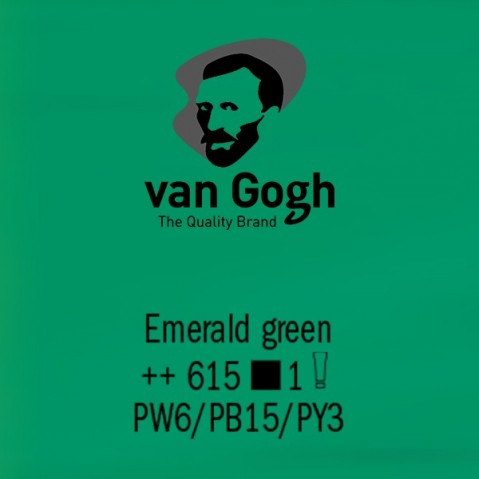 Óleo Van Gogh 40ml S1 Emerald Green 615