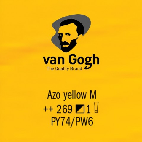Óleo Van Gogh 40ml S1 Azo Yellow M 269
