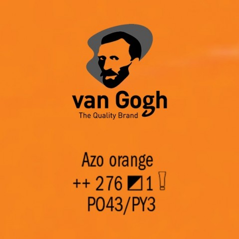 Óleo Van Gogh 40ml S1 Azo Orange 276