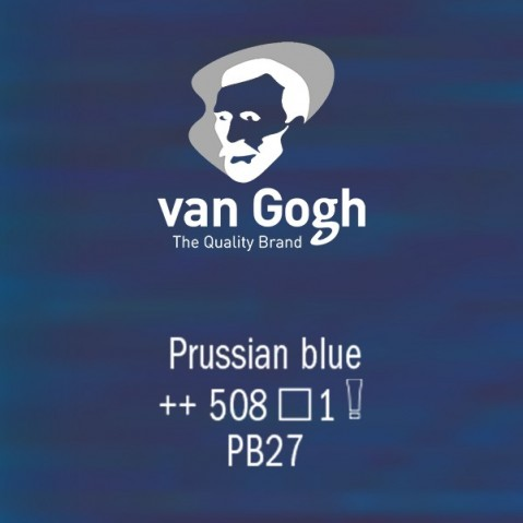 Óleo Van Gogh 40ml S1 Prussian Blue 508