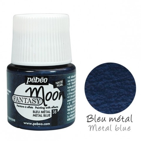 Tinta Fantasy Moon Pébéo Metal Blue 38