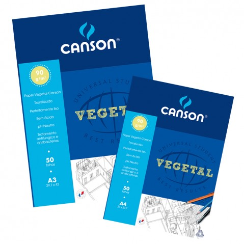 Bloco Papel Vegetal Canson