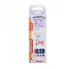 Conjunto Marcadores Sign Pen Brush Touch Perfect Day