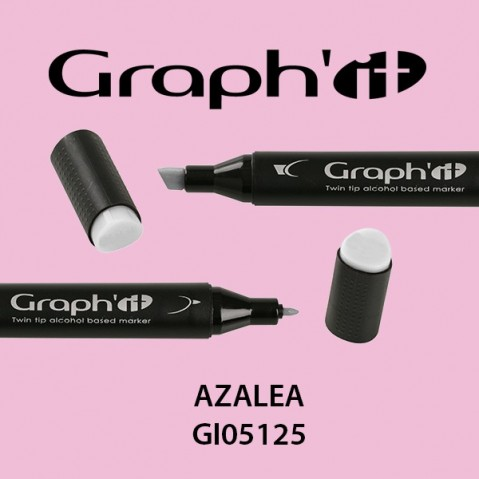 Marcador Graph'it 2 Pontas AZALEA G0I5125