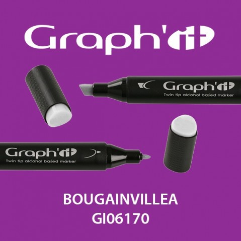 Marcador Graph'it 2 Pontas BOUGAINVILLEA GI06170