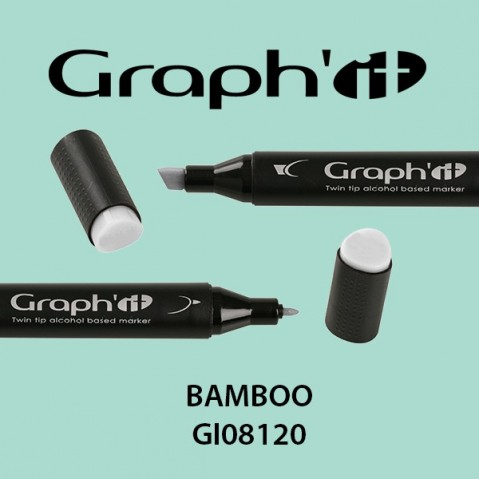 Marcador Graph'it 2 Pontas BAMBOO GI08120